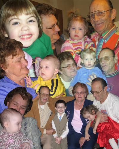 Cox Kids Collage XPoppopXGrammie